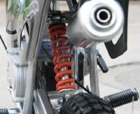 50cc dirt bike - suspension