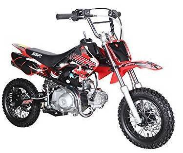 70cc dirt bike - SSR Motorsports SR70C Pit Bike Red