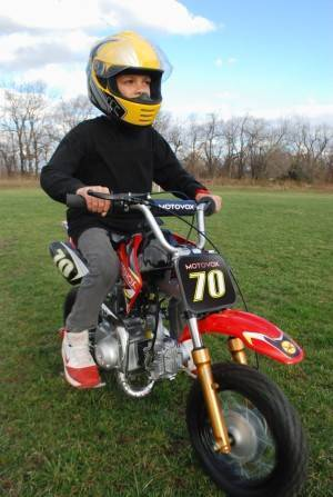 Motovox 70cc Dirt Bike