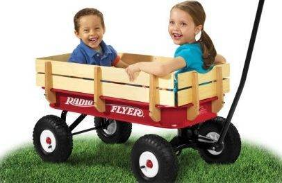 Best Kids Wagon for Toddlers - Radio Flyer All-Terrain