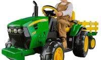 best kids ride on tractor