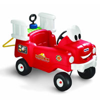 fire truck ride on toy