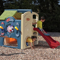 best playhouse with slide