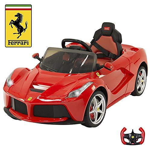 Big Toys Direct Ferrari 12V LaFerrari Kids Electric Ride On Car with MP3 and Remote Control