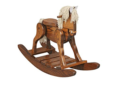 AmishMade Wooden Rocking Horse
