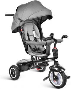 Besrey Kid 7 in 1 Baby Tricycle Stroller
