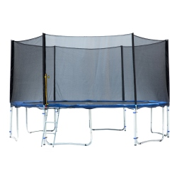 Exacme TUV Approved Trampoline with Safety Pad & Enclosure Net