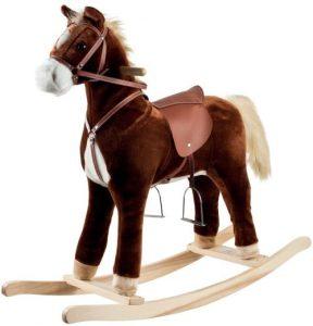 Happy Trails Plush Rocking Horse