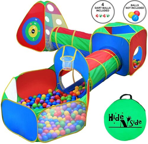 Hide N Side - Play Tent and Tunnels for kids