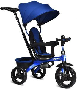 INFANS 4 in 1 Stroll Trike with Adjustable Push Handle