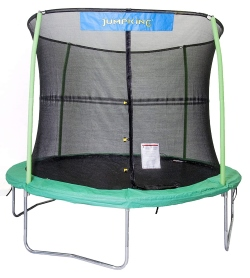 JumpKing Outdoor Trampoline and Safety Net Enclosure