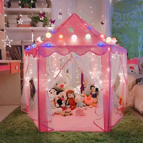 LOJETON Princess Tent Girls Large Playhouse