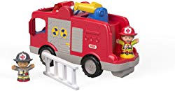 Little People Large Vehicle Fire Truck