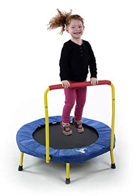 The Original Toy Company Fold & Go Trampoline (Toddler Trampoline)