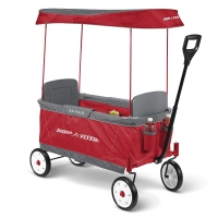 The Radio Flyer Ultimate Comfort Kids Wagon