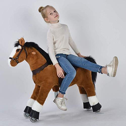 UFREE Ride on Pony Large Toy Horse