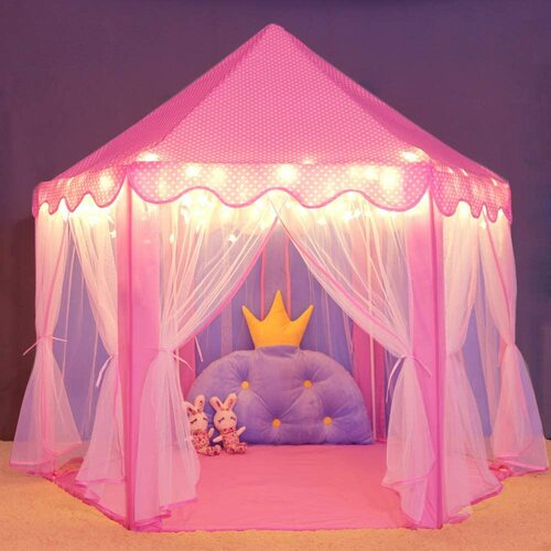 Wilwolfer Princess Castle Play Tent
