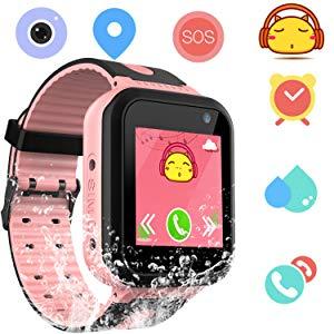 Kids Smart Watch Phone GPS Tracker