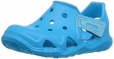 The 9 Best Water Shoes For Kids & Toddlers - Crocs Kids Swiftwater Wave Water Sandal