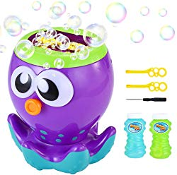 LUKAT Bubble Machine for Kids