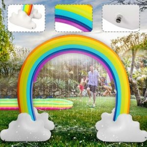 MarryXD Rainbow Sprinkler Outdoor Summer Toy For Kids