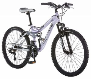 Mongoose Girl's Maxim Full Suspension Bicycle