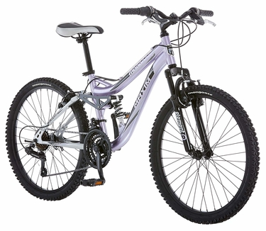 Mongoose Girl's Maxim Full Suspension Bicycle