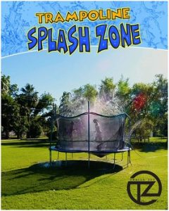 ThrillZoo Trampoline SplashZone Kids Fun Sprinkler