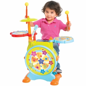 Best Choice Products Kids Electronic Toy Drum Set