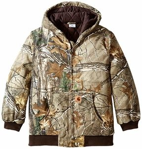 Carhartt Boys Active Taffeta Quilt-Lined Jacket