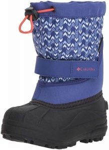 Columbia Kids' Childrens Powderbug Plus Ii Print Snow Boot