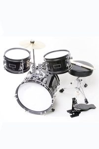 Directly Cheap Children's Black Junior Drum Set