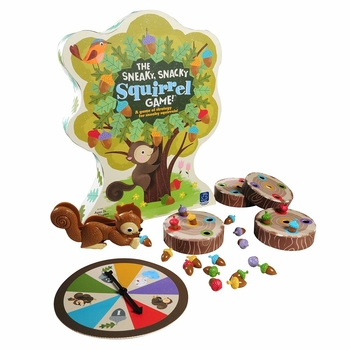 10 Best Toddler Games - Educational Insights The Sneaky Snacky Squirrel Game