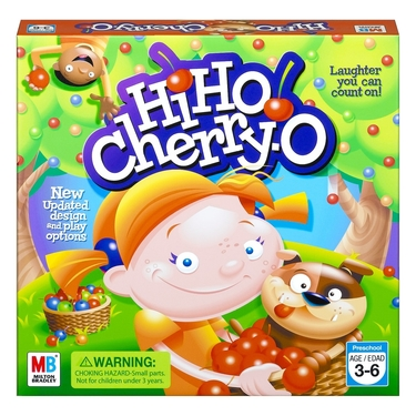 10 Best Toddler Games - Hasbro Hi Ho Cherry O Board Game