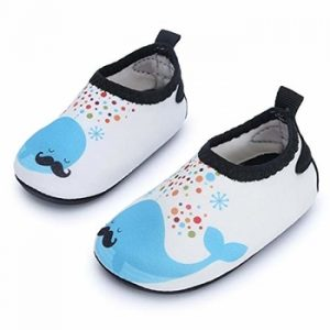 JIASUQI Baby Boys And Girls Barefoot Swim Water Skin Shoes