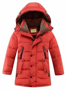 Lisueyne Big Boys' Hooded Down Coat