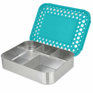 LunchBots Large Cinco Stainless Steel Lunch Container