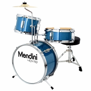 Mendini By Cecilio 13-Inch 3-Piece KidsJunior Drum Set