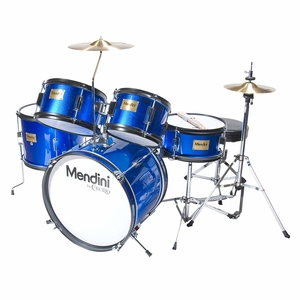 Mendini By Cecilio 16-Inch 5-Piece Complete KidsJunior Drum Set