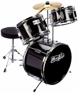 Music Alley Kids 3-Piece Beginners Drum Kit
