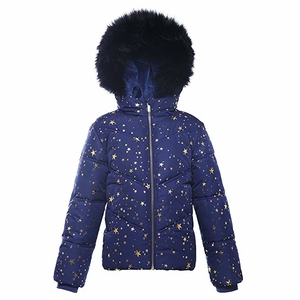 Rokka & Rolla Girls' Water-Resistant Hooded Heavy Padded Coat