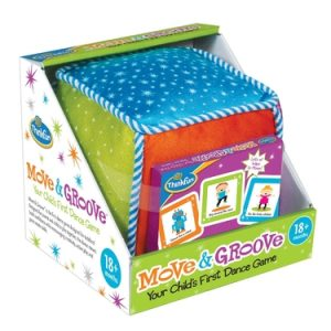 ThinkFun Move and Groove Dance Game For Toddlers