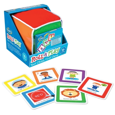 10 Best Toddler Games - ThinkFun Roll and Play Game for Toddlers