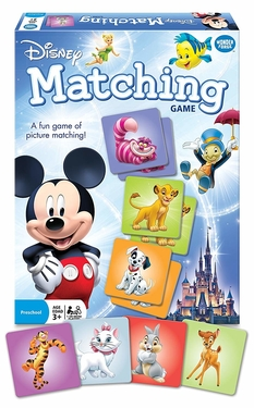 10 Best Toddler Games - Wonder Forge Disney Classic Characters Matching Game