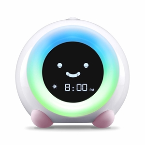 LittleHippo Mella Ready To Rise Children's Trainer, Alarm Clock, Night Light