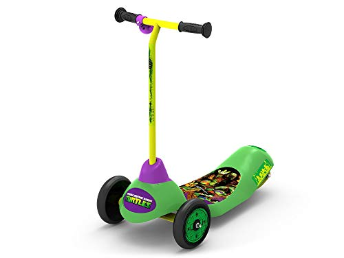 Pulse Performance Products Teenage Mutant Ninja Turtles Safe Start 3-Wheel Electric Scooter