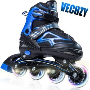 VECHZY Comfortable Adjustable Inline Skates