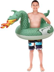 GoFloats Dragon Party Tube Inflatable Rafts