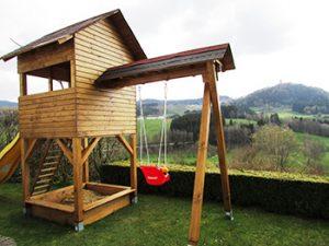 diy backyard playhouse