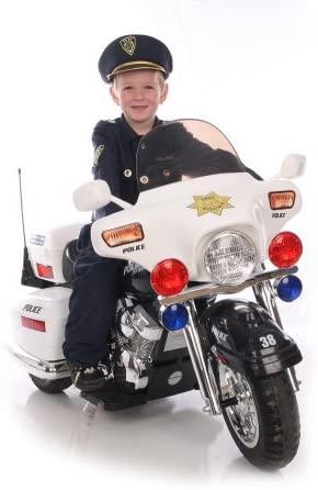 Kid Motorz Police Motorcycle